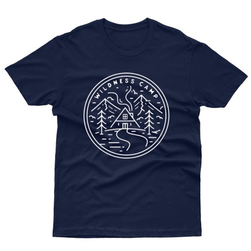 Camping in Mountains T shirt