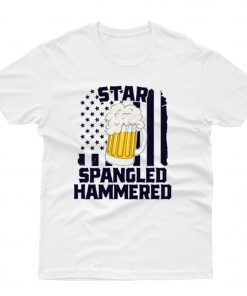 Star Spangled Hammered T shirt