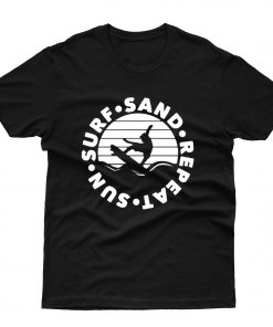 Surf Sun Sand Repeat T shirt
