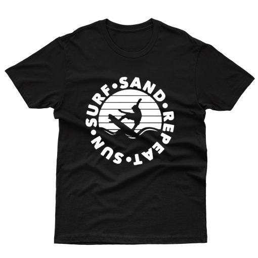 Surf Sun Sand Repeat T shirt