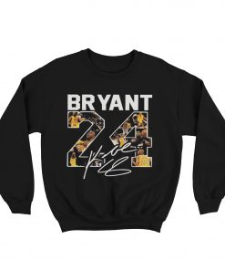 Bryant Number 24 Signature Sweatshirt