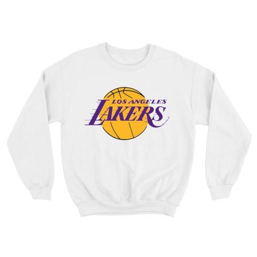 NBA Logo Los Angeles Lakers Pullover Sweatshirt