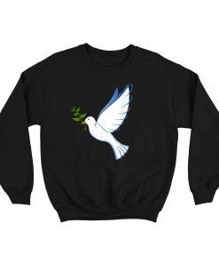 Pigeons Carry Leaves Sweatshirt