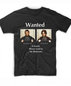 Wanted Winchester Supernatural Quotes T-Shirt