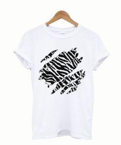 Wild Zebra Inside All Over Men's T-Shirt