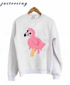 Albert Flamingo Melting Pop – Mrflimflam Sweatshirt
