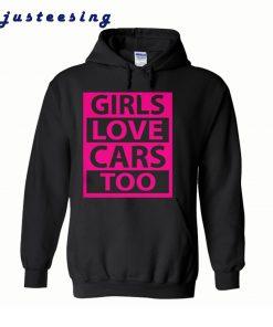Car Fanatic Girls hoodie