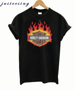Wild Fire Harley Davidson Logo T Shirt