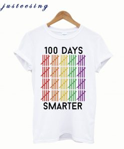 100 Days Smarter Of School T-Shirt