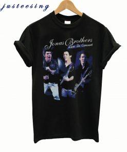 2010 Jonas Brothers Tour T-Shirt