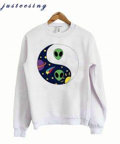 Alien Yin Yang Sweatshirt