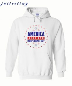 America July 4th Independence Day Hoodie