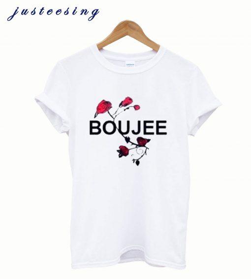 Boujee Rose T Shirt