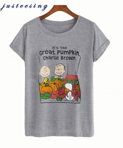 It's the Great Pumpkin Charlie Brown T-Shirt