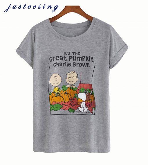It's the Great Pumpkin Charlie Brown T-Shirt