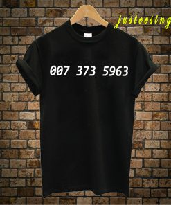 007 373 T-Shirt Meaning