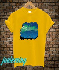 Dancing Northern Lights T-Shirt