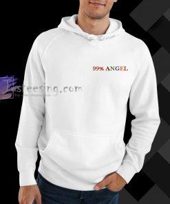 99 percent angel hoodie