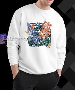 aesthetic flower Sweatshirt