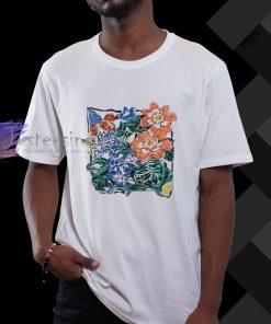 aesthetic flower t shirt